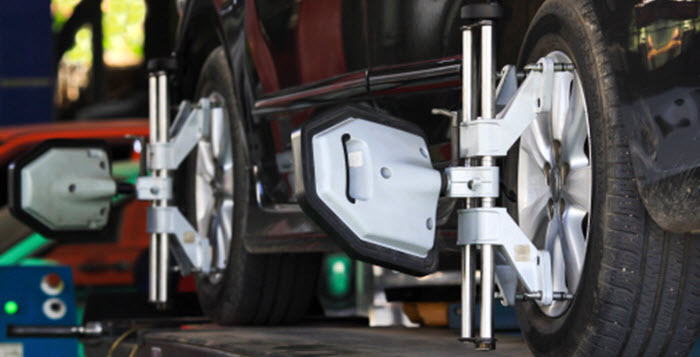 Need A Wheel Alignment - Cottman Man - Cottman Transmission and Total Auto Care