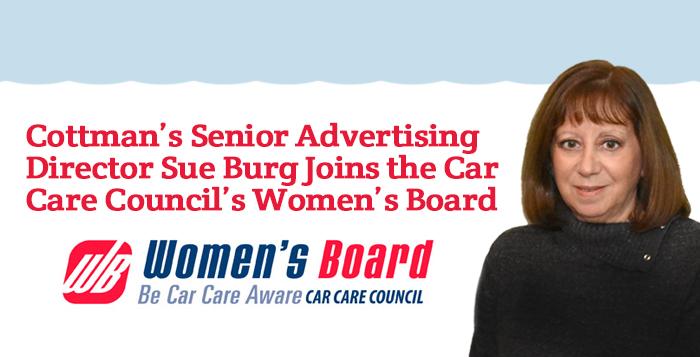 Car care council's women's board, Cottman Man Blog, Cottman Transmission and Total Auto Care