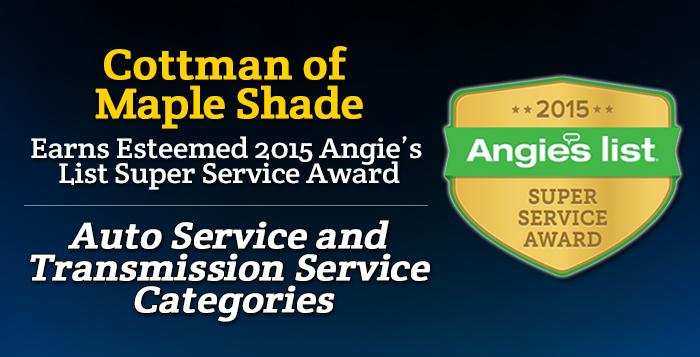 Cottman of Maple Shade, MO - Angie's List Super Service Award 2015 Winner