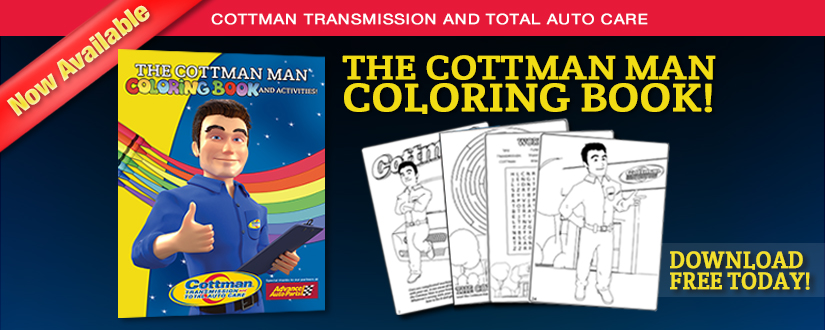 Introducing The Cottman Man Coloring and Activities Book, for Children of All Ages!