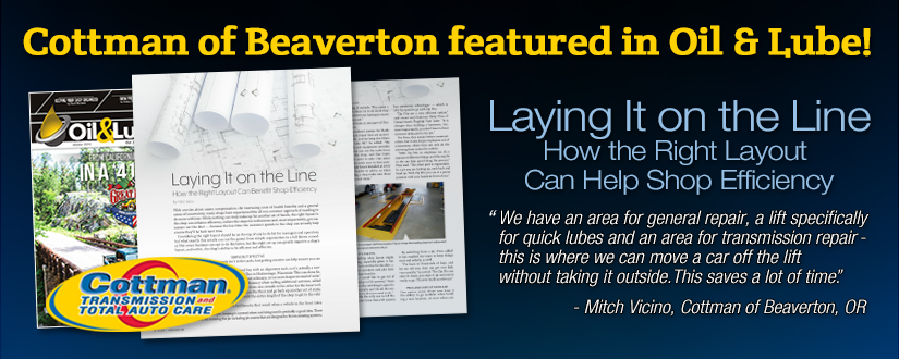 Laying  It on the Line : How the Right Layout Can Benefit Shop Efficiency