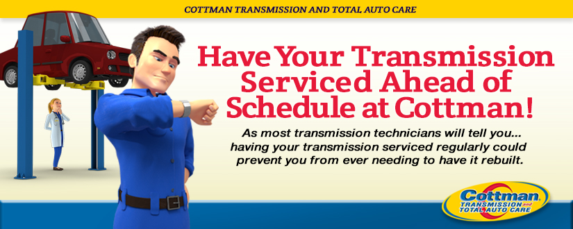 Have Your Transmission Serviced Ahead of Schedule