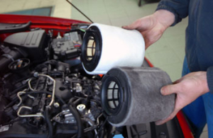 air filter - fuel filter replacement
