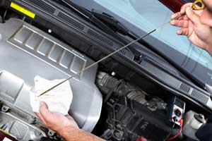 Vehicle Fluid Inspection - Cottman Man - Cottman Transmission and Total Auto Care