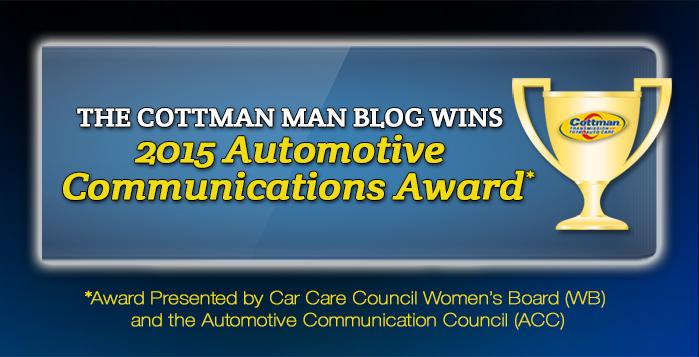Automotive Communications Award - Cottman Man - Cottman Transmission and Total Auto Care