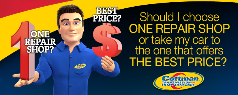 Should I Choose one Repair Shop or Take my Car to the one that Offers the Best Price?