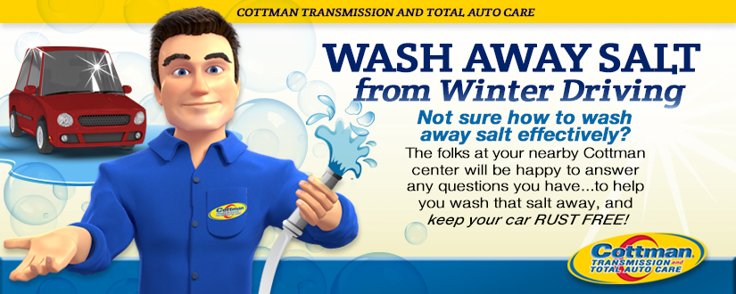 Wash Away Salt from Winter Driving